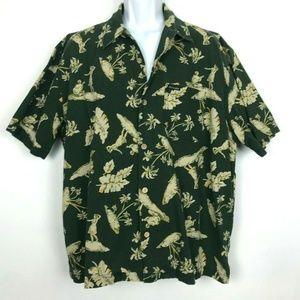 Abercrombie & Fitch Hawaiian Shirt Hula Dancers